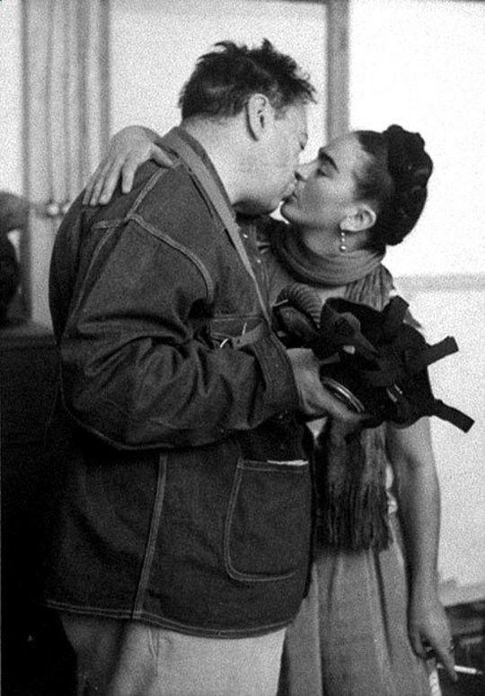 -Frida Kahlo and Diego Rivera