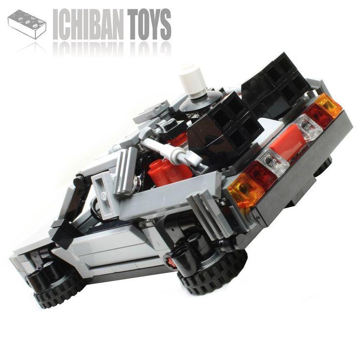 Ichiban Toys Bttf Delorean Time Machine Custom Lego Kit