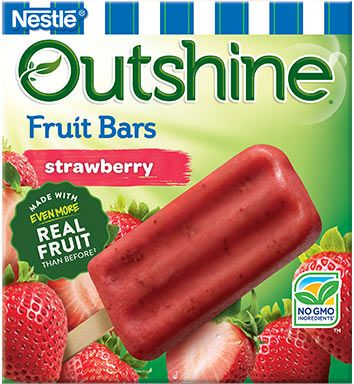 Outshine Frozen Fruit Bar's seasonal picks are blood orange and black cherry!  Try these delicious flavors today!