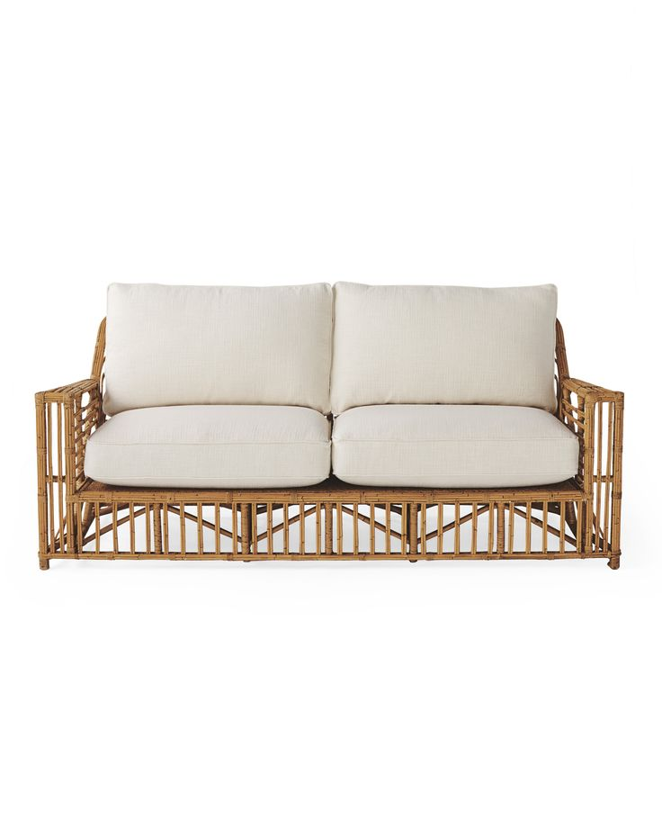 Sunroom  Rattan Sofa *dimensions*