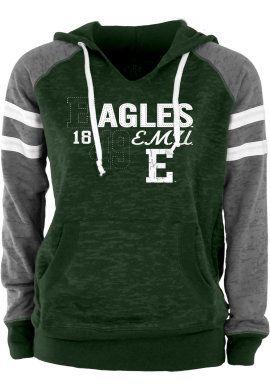 Product: Eastern Michigan University Eagles Women's Hooded Sweatshirt
