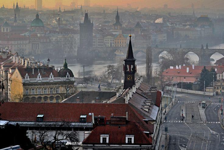 ospalá Praha, drowsy Prague