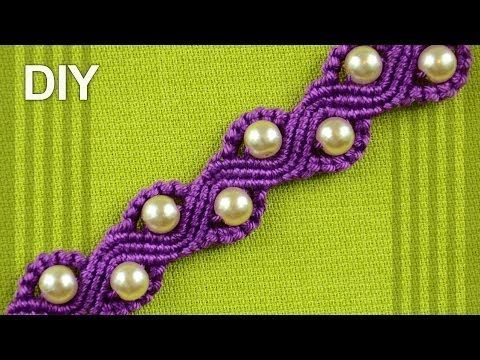 http://jewelry-crafts.wonderhowto.com/how-to/make-snake-wave-macrame-bracelet-with-beads-0155091/