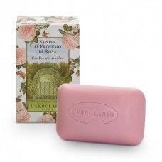 Rózsával illatosított szappan - Rendeld meg online! Lerbolario Naturkozmetikumok http://lerbolario-naturkozmetikumok.hu/kategoriak/testapolas/szappanok