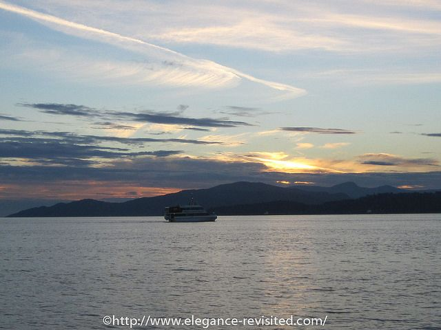 sunset vancouver
