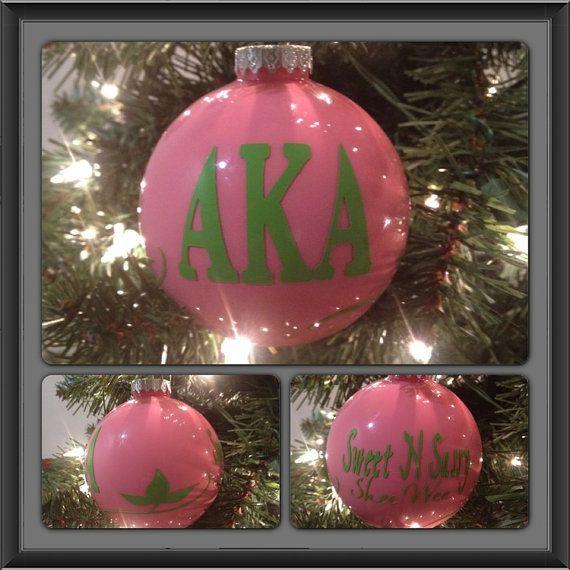 AKA Christmas ornaments
