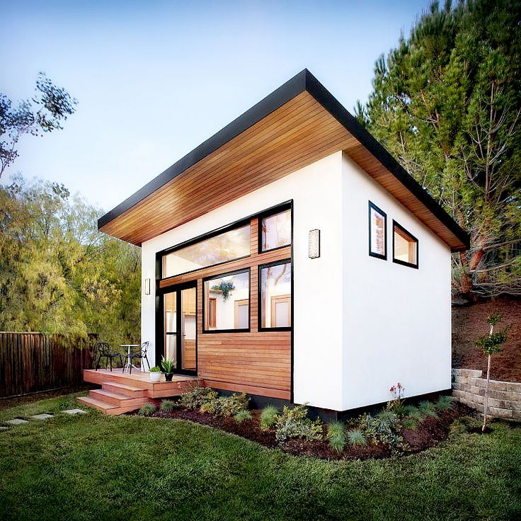 This Luxurious Tiny House Can Be Built In Less Than Six Weeks ~ Article from CountryLiving magazine #prefab #tinyhouse