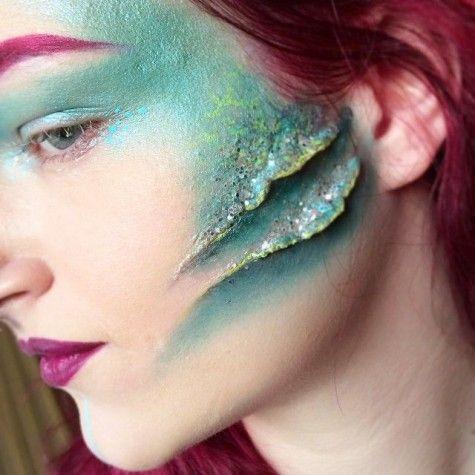 186 best Halloween images on Pinterest | Costumes, Mermaid makeup ...