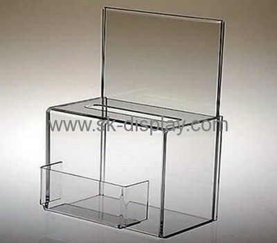 Acrylic storage boxes with lids DBS-002
