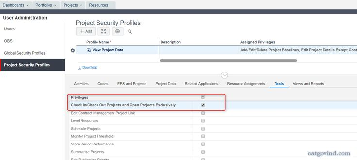 What minimal permission does a user require to create baseline and assign baseline in a Project in Primavera P6
