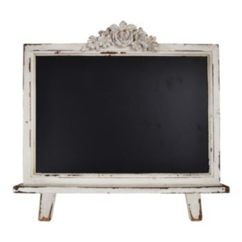 Chalkboard Decor from Kohl's makes a great little Cat's Meow display!