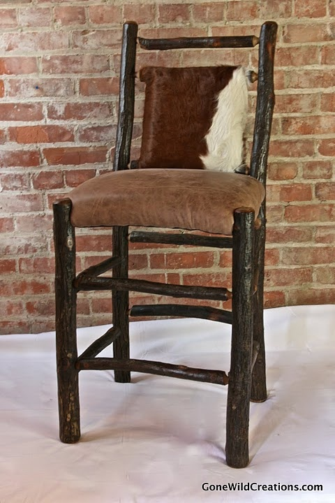 Hickory Barstool Seating