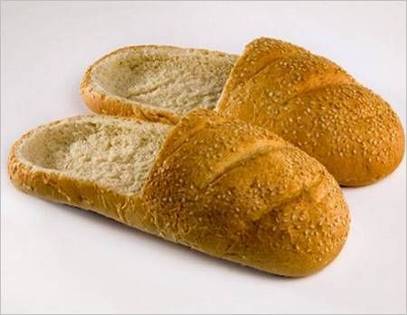 I want bread slippers