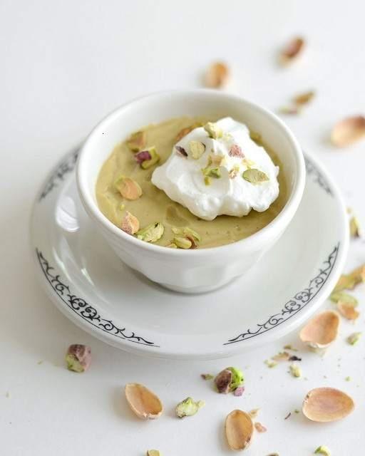 Homemade Pistachio Pudding | RECIPES | Pinterest
