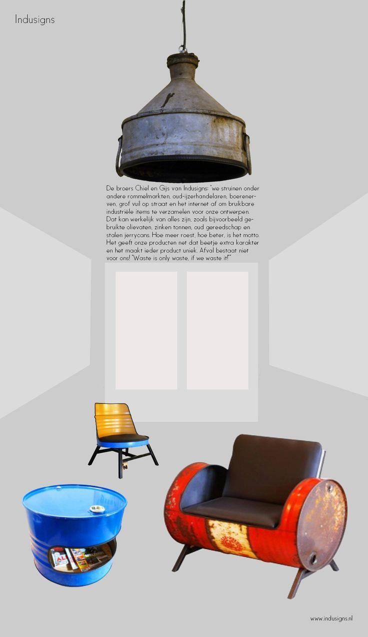 Eco design van Indusigns  http://www.artecomagazine.nl/artecomagazine_indusigns.html