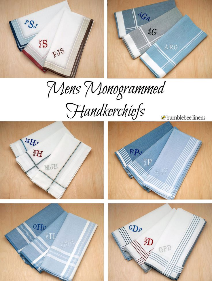Are you looking for the perfect handkerchief for that special man in your life?  Our mens handkerchiefs are perfect for the groom, father of the…