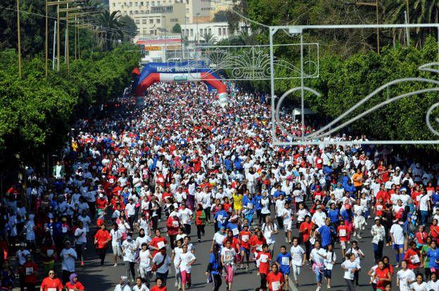 More than 30,000 women race in Rabat