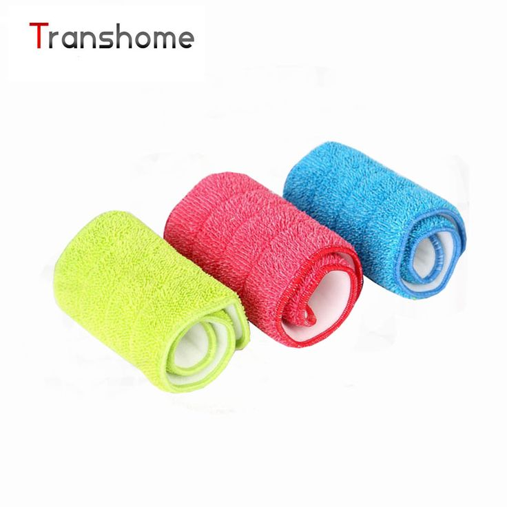 3PCS/set Fiber Spray Mop Head Floor cleaning cloth Paste The Mop To Replace Cloth Household Cleaning Mop Cleaning Accessories #Affiliate