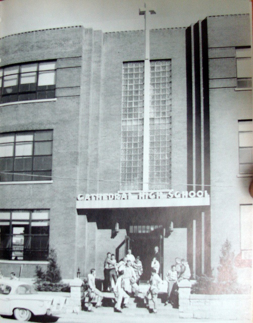 Cathedral High School 1963   200 S. 3rd St. Belleville, IL  Photo from Academy of Notre Dame yearbook, 1963