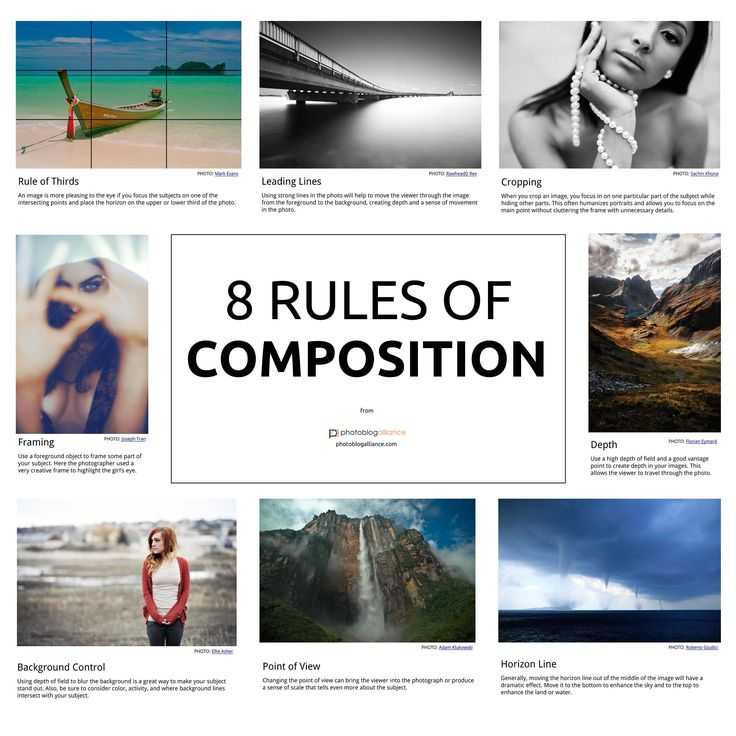Want to become a great photographer? Learn these 8 rules of composition and…