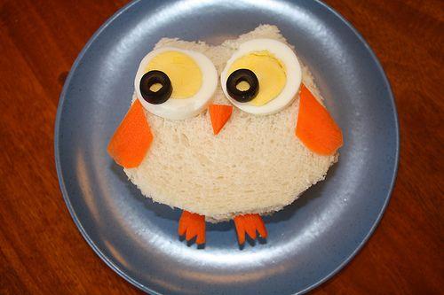 owl sandwich!: Owl Food, Fun Food, Turkey Sandwiches, Kiddie Food, Owl Sandwiches, Cute Owl, Food Art, Food Fun, Kids Food