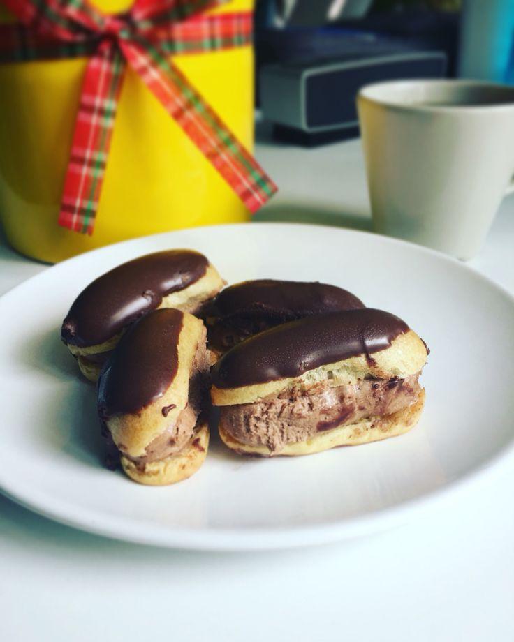 Aksam ustu tatlisiz olmaz #eklerpasta #ekler #pastatarifleri #tatli #tarif #food #dessert #cake #chocolate #recipe #yemek