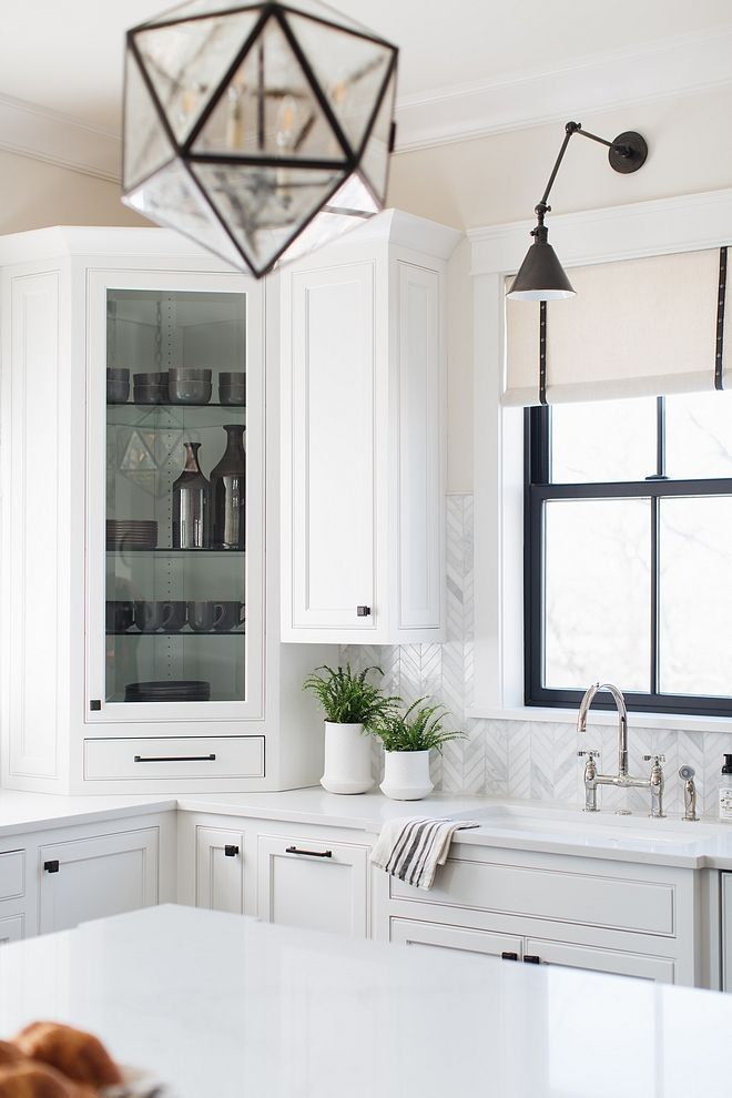 Benjamin Moore Classic Gray Kitchen Wall Color