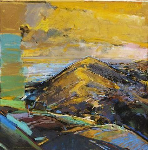 David Prentice, Old Chrome A very fine English landscape artist