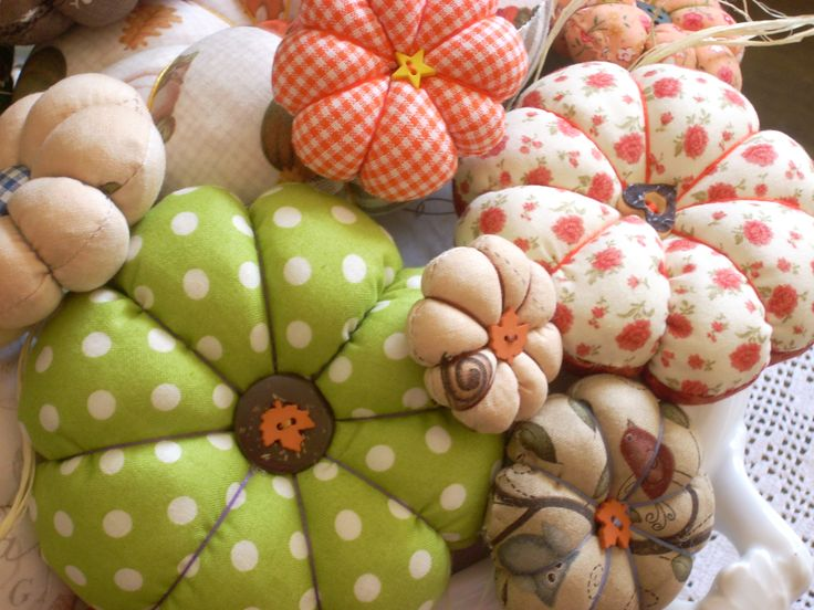 pumpkins/pillows - tutorial