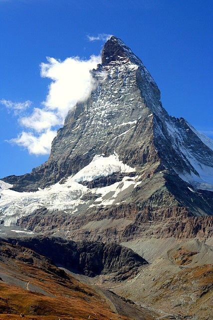 ✯ The Matterhorn, seen from Zermatt, Switzerland