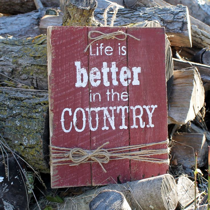 25 Best Ideas About Rustic Wood Signs On Pinterest: 17 Best Images About Farm & Country Decor Hand Painted