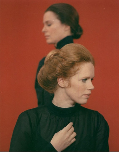 'Cries & Whispers', Liv Ullman. Ingmar Bergman's *red' film (an interesting/brilliant psychological choice by a masterful artist & brain).