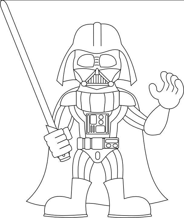 Darth Vader Coloring Pages Movies And Tv Show Coloring Pages