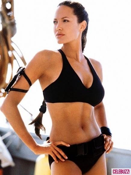 Angelina Jolie as Laura Croft | Tomb Raider.