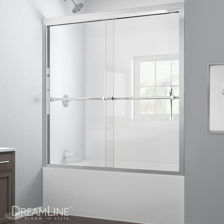 duet tub door by dreamline glass shower door for your perfect bathroom renovation get your - Tub Shower Doors