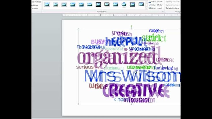 How to Create Word Clouds as End-of-theYear Student Gifts