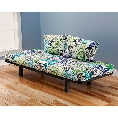 Christopher Knight Home Spacely Black Metal Futon - Bali Lounger