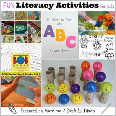 Fun Literacy Activities for kids