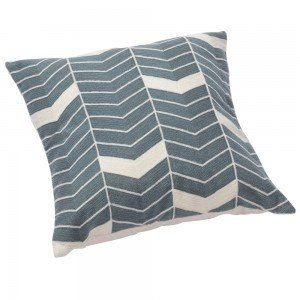 Grey & White Arrow Cushion