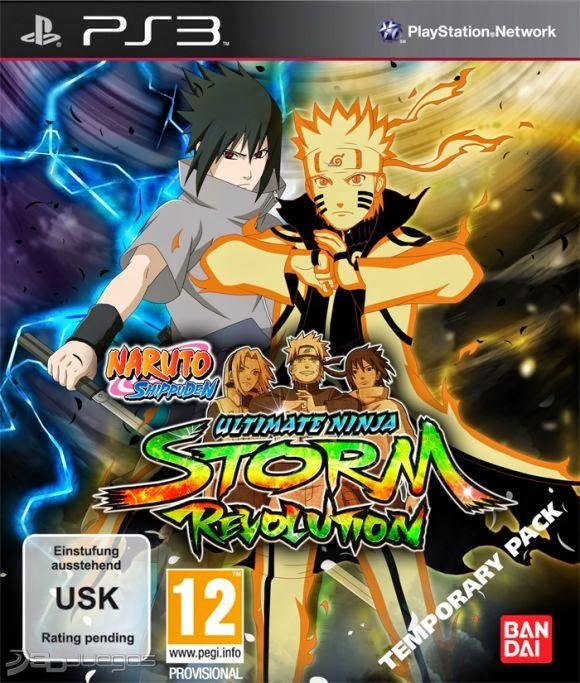 Juegos para todos: Naruto Shippuden: Ultimate Ninja Storm Revolution.Juego de accion y lucha. Viene para PS3, PC y Xbox360. Textos en español u el audio en inglés y japonés