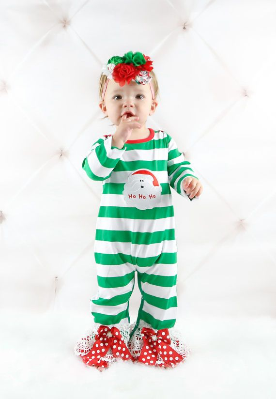 d2661f28f3d6 Christmas OutfitBaby Christmas OutfitBaby First Christmas Baby s First  Christmas Outfit