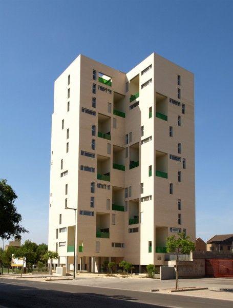 Edificio De Viviendas Torre Girasol En Urbanizaci N Mas Del Rosari De Paterna Valencia