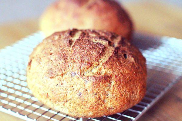 A Grain-Free Bread Recipe From a Nutritional Biochemist #glutenfree #boule #grainfree