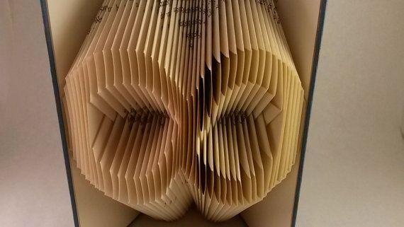 Végtelen jel alakú hajtogatott könyv - Nőknek és Férfiaknak - Esküvői dekoráció