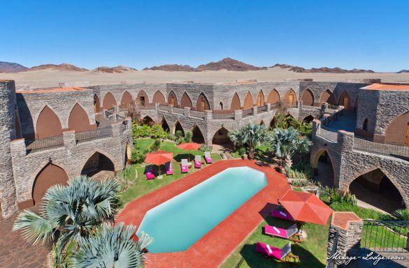 hotel Le Mirage Desert Lodge & Spa, situata a 21km da Sesriem, nel cuore del Namib Desert perfetto punto d'accesso al Namib Naukluft Park e a Sossusvlei. - See more at: http://blog.presstours.it/2015/01/16/namibia-splendido-hotel-le-mirage-desert-lodge-spa/#sthash.04iLiFEX.dpuf