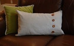Pottery Barn Inspired Pillow | AllFreeSewing.com