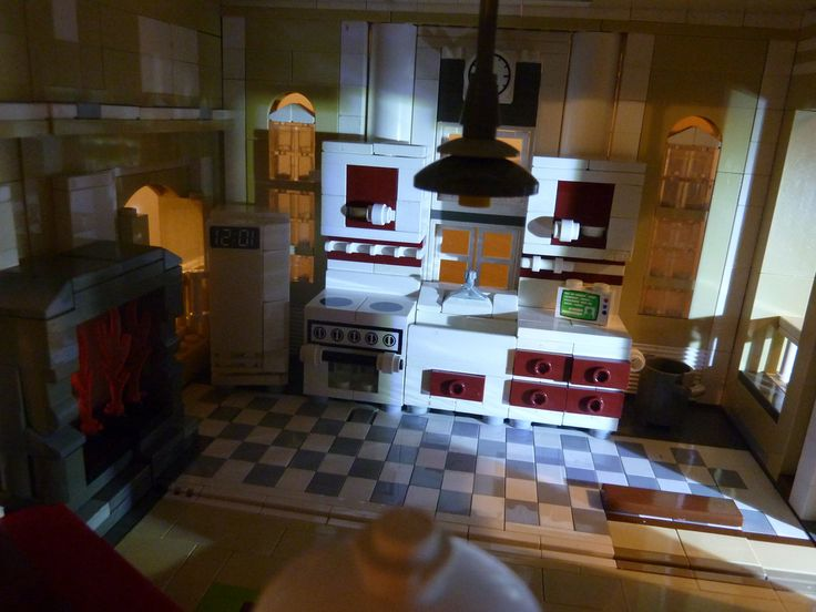 105 Best Lego Kitchen Images On Pinterest Lego Legos
