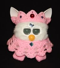 crochet furby | Crochet Outfit/Clothes for Furby & Furby Boom - Furby Queen in Evening ...