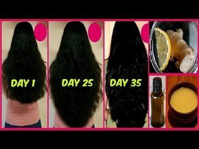 Fast Hair Growth in 30 days Ginger Hair Oil & Mask for Longer Thicker Natrual Hair Stop HAIR LOSS - YouTube