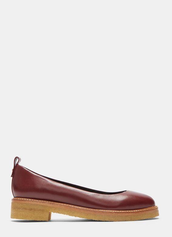 Women's Flats - Shoes   Discover Now LN-CC - Rubber Crepe Ballerina Pumps